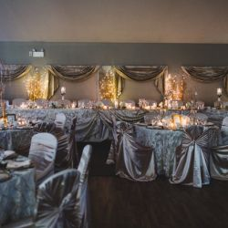 Banquet Room In Gold